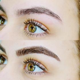 semi-permanent make-up brows   aurora spa