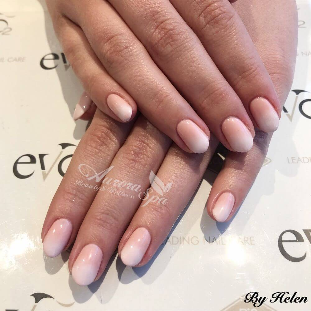 French Ombre Gel Overlay