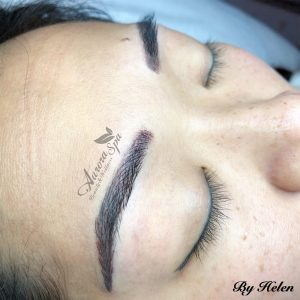First Touch Up Microblading & Microshading