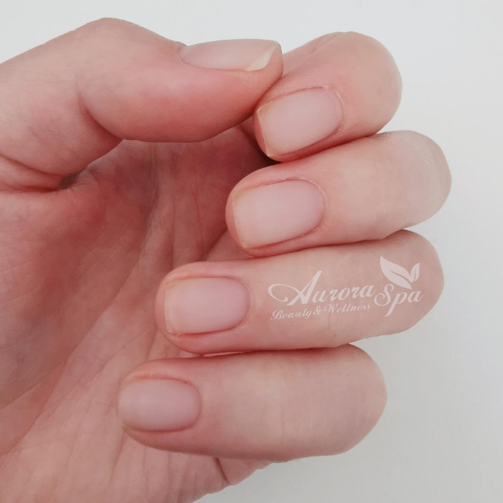 Natural Nail Overlay - Clear Matte