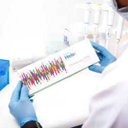Helix DNA Skin Test